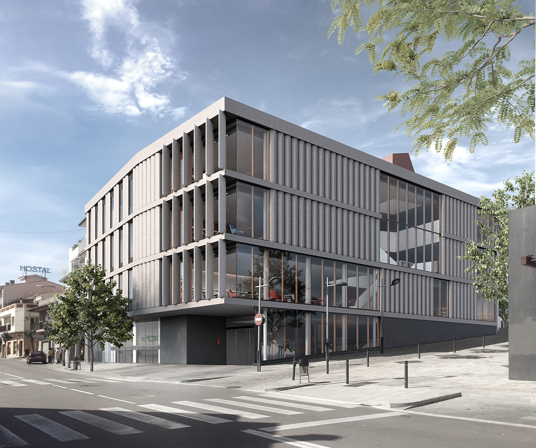 01...Biblioteca L'Escala....Corner_No people